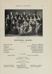 Page 15, 1924 Edition, Bridgewater State University - Alpha Yearbook (Bridgewater, MA) online yearbook collection