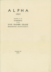 Page 7, 1937 Edition, Bridgewater State University - Alpha Yearbook (Bridgewater, MA) online yearbook collection