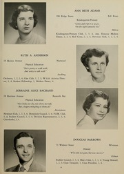 Page 13, 1952 Edition, Bridgewater State University - Alpha Yearbook (Bridgewater, MA) online yearbook collection