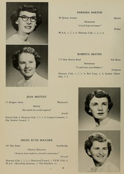 Page 14, 1952 Edition, Bridgewater State University - Alpha Yearbook (Bridgewater, MA) online yearbook collection