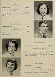 Page 15, 1952 Edition, Bridgewater State University - Alpha Yearbook (Bridgewater, MA) online yearbook collection