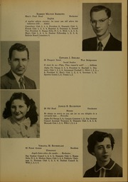 Page 11, 1954 Edition, Bridgewater State University - Alpha Yearbook (Bridgewater, MA) online yearbook collection