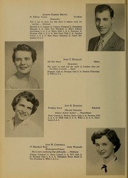 Page 12, 1954 Edition, Bridgewater State University - Alpha Yearbook (Bridgewater, MA) online yearbook collection