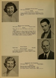 Page 14, 1954 Edition, Bridgewater State University - Alpha Yearbook (Bridgewater, MA) online yearbook collection
