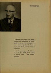 Page 7, 1954 Edition, Bridgewater State University - Alpha Yearbook (Bridgewater, MA) online yearbook collection