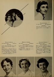 Page 16, 1955 Edition, Bridgewater State University - Alpha Yearbook (Bridgewater, MA) online yearbook collection