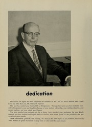Page 6, 1960 Edition, Bridgewater State University - Alpha Yearbook (Bridgewater, MA) online yearbook collection