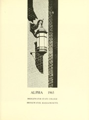 Page 5, 1965 Edition, Bridgewater State University - Alpha Yearbook (Bridgewater, MA) online yearbook collection