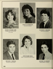 Page 202, 1985 Edition, Bridgewater State University - Alpha Yearbook (Bridgewater, MA) online yearbook collection