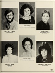 Page 203, 1985 Edition, Bridgewater State University - Alpha Yearbook (Bridgewater, MA) online yearbook collection
