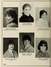 Page 206, 1985 Edition, Bridgewater State University - Alpha Yearbook (Bridgewater, MA) online yearbook collection