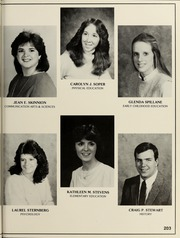 Page 207, 1985 Edition, Bridgewater State University - Alpha Yearbook (Bridgewater, MA) online yearbook collection