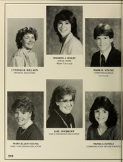 Page 214, 1985 Edition, Bridgewater State University - Alpha Yearbook (Bridgewater, MA) online yearbook collection