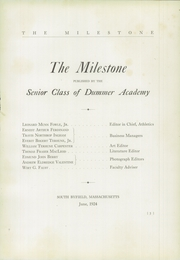 Page 7, 1924 Edition, Governors Academy - Milestone Yearbook (Byfield, MA) online yearbook collection
