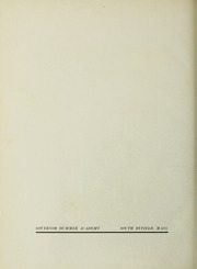 Page 6, 1950 Edition, Governors Academy - Milestone Yearbook (Byfield, MA) online yearbook collection