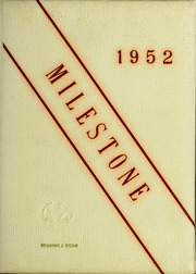 Page 1, 1952 Edition, Governors Academy - Milestone Yearbook (Byfield, MA) online yearbook collection