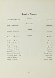 Page 10, 1952 Edition, Governors Academy - Milestone Yearbook (Byfield, MA) online yearbook collection