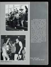 Page 15, 1988 Edition, Governors Academy - Milestone Yearbook (Byfield, MA) online yearbook collection