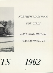 Page 5, 1962 Edition, Northfield School - Highlights Yearbook (East Northfield, MA) online yearbook collection