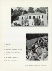 Page 6, 1962 Edition, Northfield School - Highlights Yearbook (East Northfield, MA) online yearbook collection