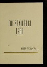 Page 7, 1938 Edition, Fitchburg State University - Saxifrage Yearbook (Fitchburg, MA) online yearbook collection