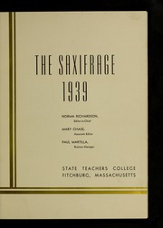 Page 7, 1939 Edition, Fitchburg State University - Saxifrage Yearbook (Fitchburg, MA) online yearbook collection