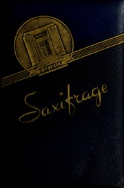 Fitchburg State University - Saxifrage Yearbook (Fitchburg, MA) online yearbook collection, 1940 Edition, Page 1