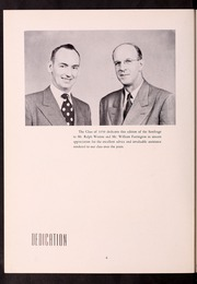 Page 8, 1950 Edition, Fitchburg State University - Saxifrage Yearbook (Fitchburg, MA) online yearbook collection