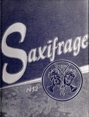 Fitchburg State University - Saxifrage Yearbook (Fitchburg, MA) online yearbook collection, 1952 Edition, Page 1