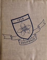 Page 1, 1958 Edition, Fitchburg State University - Saxifrage Yearbook (Fitchburg, MA) online yearbook collection
