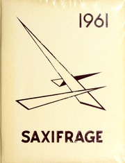 Page 1, 1961 Edition, Fitchburg State University - Saxifrage Yearbook (Fitchburg, MA) online yearbook collection