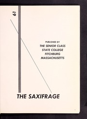 Page 5, 1961 Edition, Fitchburg State University - Saxifrage Yearbook (Fitchburg, MA) online yearbook collection