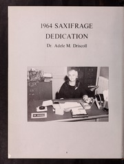 Page 12, 1964 Edition, Fitchburg State University - Saxifrage Yearbook (Fitchburg, MA) online yearbook collection