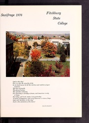 Page 5, 1976 Edition, Fitchburg State University - Saxifrage Yearbook (Fitchburg, MA) online yearbook collection