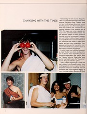 Page 10, 1983 Edition, Fitchburg State University - Saxifrage Yearbook (Fitchburg, MA) online yearbook collection
