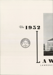 Page 6, 1952 Edition, Lawrence Academy - Lawrencian Yearbook (Groton, MA) online yearbook collection