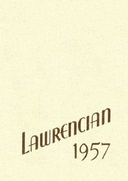 1957 Edition, Lawrence Academy - Lawrencian Yearbook (Groton, MA)