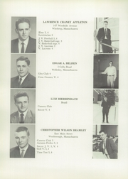 Page 16, 1959 Edition, Lawrence Academy - Lawrencian Yearbook (Groton, MA) online yearbook collection
