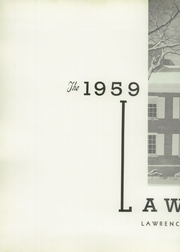 Page 6, 1959 Edition, Lawrence Academy - Lawrencian Yearbook (Groton, MA) online yearbook collection