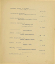 Page 13, 1894 Edition, Colby College - Oracle Yearbook (Waterville, ME) online yearbook collection