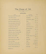 Page 16, 1894 Edition, Colby College - Oracle Yearbook (Waterville, ME) online yearbook collection