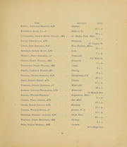 Page 17, 1894 Edition, Colby College - Oracle Yearbook (Waterville, ME) online yearbook collection