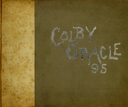 Page 1, 1895 Edition, Colby College - Oracle Yearbook (Waterville, ME) online yearbook collection