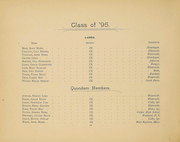 Page 14, 1895 Edition, Colby College - Oracle Yearbook (Waterville, ME) online yearbook collection