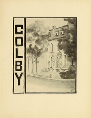 Page 13, 1911 Edition, Colby College - Oracle Yearbook (Waterville, ME) online yearbook collection