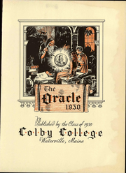 Page 9, 1930 Edition, Colby College - Oracle Yearbook (Waterville, ME) online yearbook collection