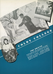 Page 7, 1939 Edition, Colby College - Oracle Yearbook (Waterville, ME) online yearbook collection