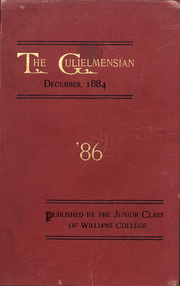 Page 1, 1884 Edition, Williams College - Gulielmensian Yearbook (Williamstown, MA) online yearbook collection
