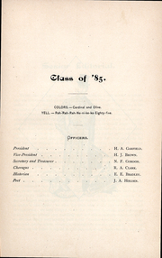 Page 14, 1884 Edition, Williams College - Gulielmensian Yearbook (Williamstown, MA) online yearbook collection