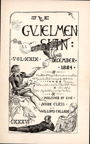Page 6, 1884 Edition, Williams College - Gulielmensian Yearbook (Williamstown, MA) online yearbook collection